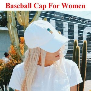 Green Pineapple Baseball Hat