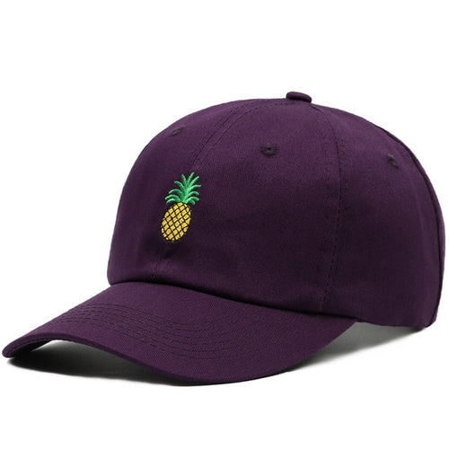 Purple Pineapple Baseball Hat