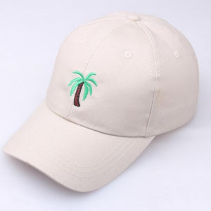 Khaki Palm Tree Hat