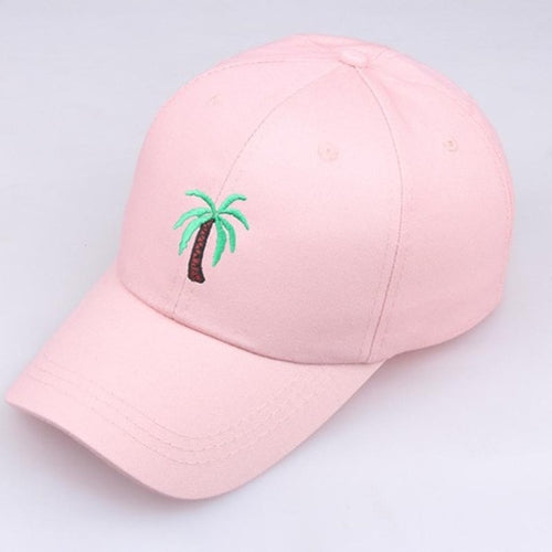 Pink Palm Tree Hat