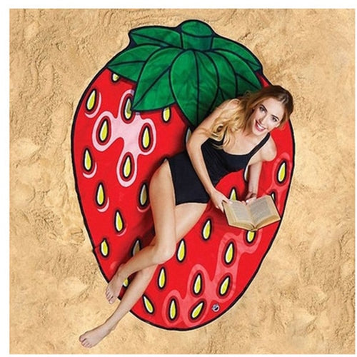 Strawberry Waterproof Beach Towel