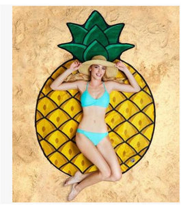 Pineapple Waterproof Beach Towels