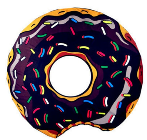 Donut Waterproof Beach Towel
