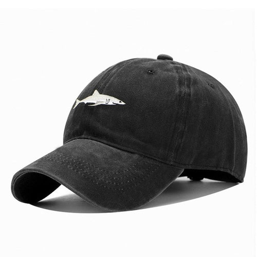 Dark Gray Shark Hat