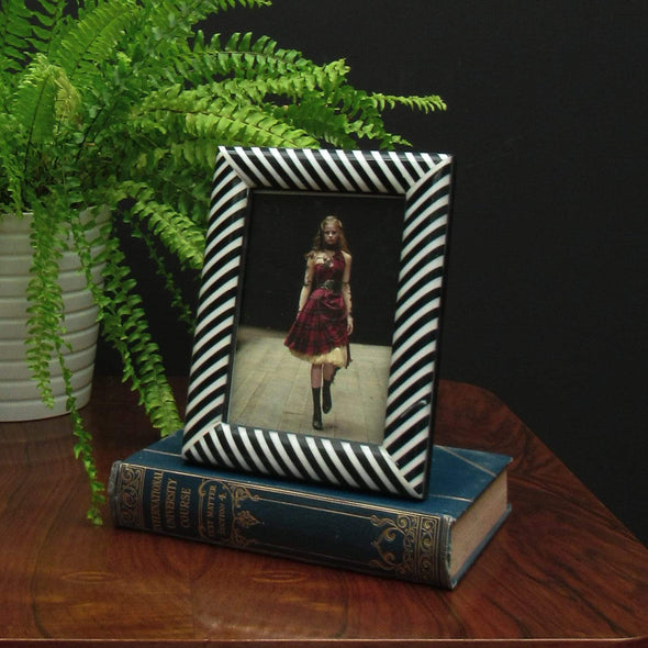Black & White Photo Frame in Ornaments from Oriana B. www.orianab.com
