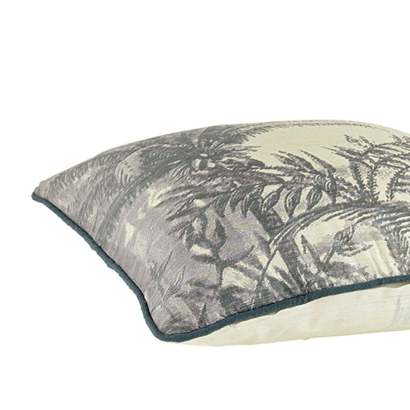 Coconut Palm Cushion | Raw Silk in Cushions from Oriana B. www.orianab.com