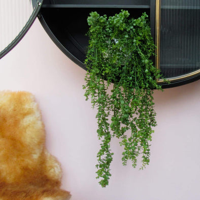 Faux Plant | Hanging Eucalyptus in Vases & Plant Pots from Oriana B. www.orianab.com