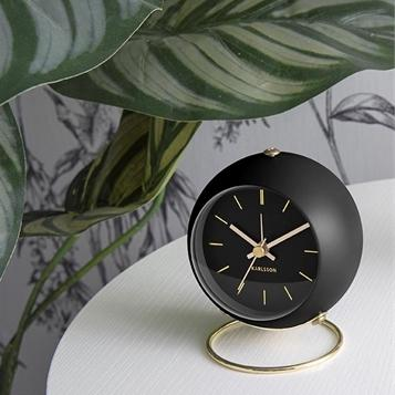 Karlsson | Globe Alarm Clock in Clocks from Oriana B. www.orianab.com