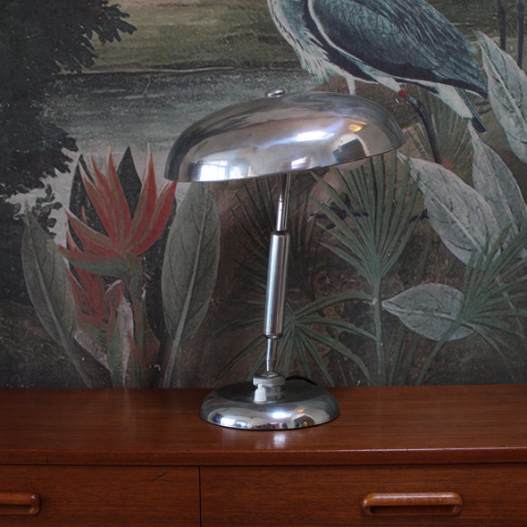 Lariolux | 1950s Italian Chrome Lamp in Lighting from Oriana B. www.orianab.com