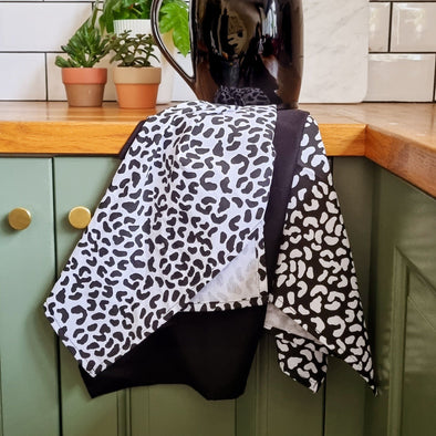Leopard Tea Towels | Set Of 3 in from Oriana B. www.orianab.com
