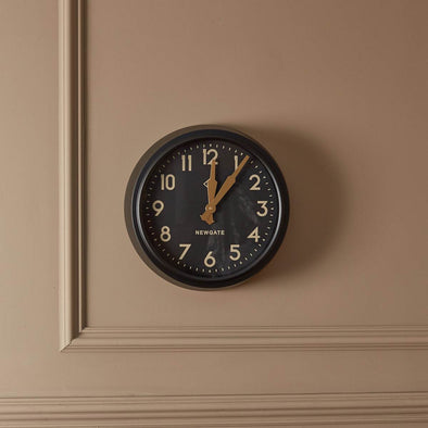 Newgate | Black Wall Clock in Clocks from Oriana B. www.orianab.com