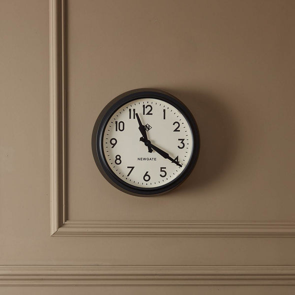 Newgate | The Electric | Black & Cream | Wall Clock in Clocks from Oriana B. www.orianab.com