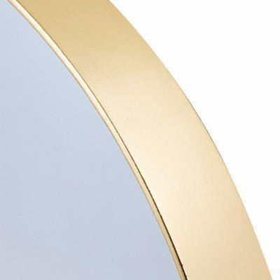 Portland | Extra Large Round Gold Framed Mirror | 120cm in Mirrors from Oriana B. www.orianab.com