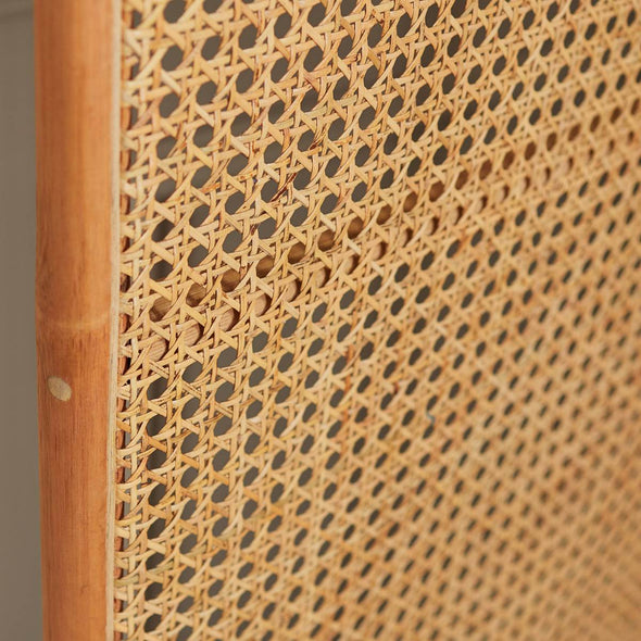 Rattan Room Divider | Natural in Storage from Oriana B. www.orianab.com