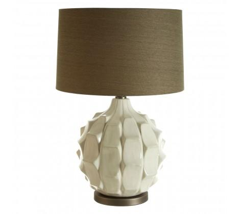Table Lamp | Brown & White in Lighting from Oriana B. www.orianab.com