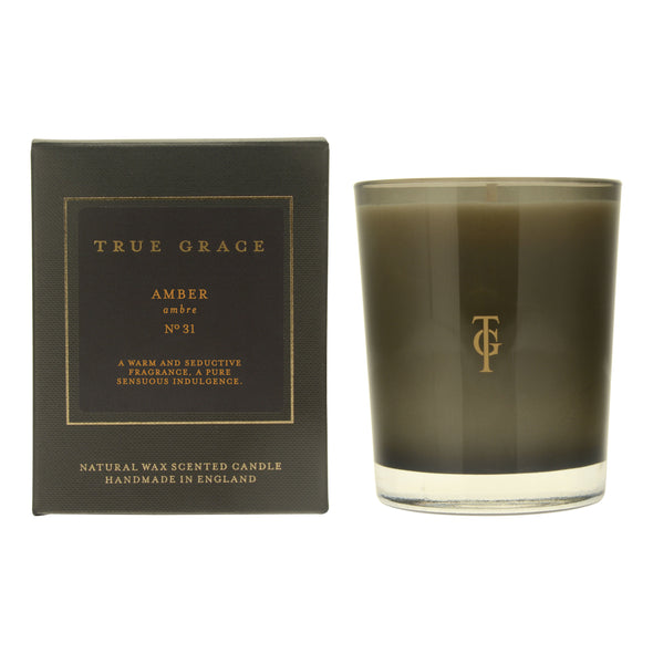 True Grace | Amber | Classic Candle in Candles & Holders from Oriana B. www.orianab.com
