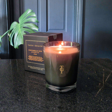 True Grace | Portobello Oud | Classic Candle in Candles & Holders from Oriana B. www.orianab.com
