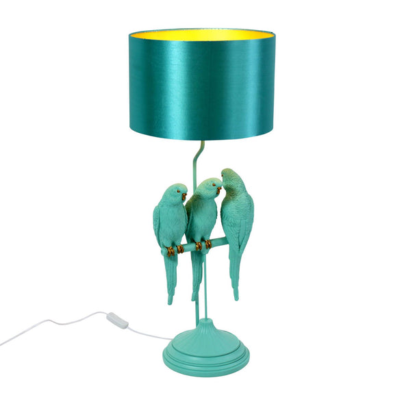 Turquoise Table Lamp: Sunny, Sweety & Sparky in Lighting from Oriana B. www.orianab.com