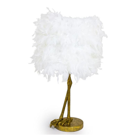White Feather | Table Lamp in Lighting from Oriana B. www.orianab.com