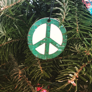 'Peace Sign' Car Air-Freshener