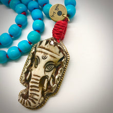 Load image into Gallery viewer, Blooming Ganesha 108 bead Mala