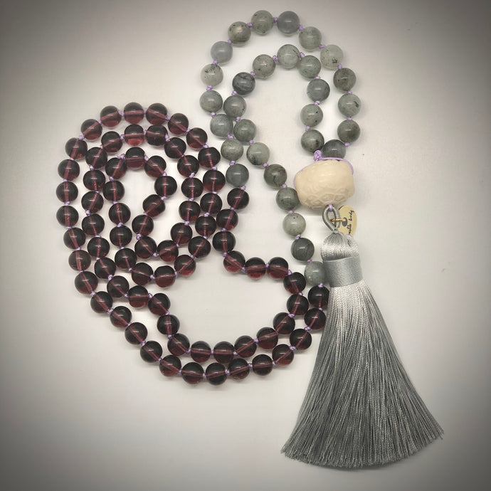Bodhi Lotus 108 bead prayer mala