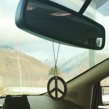 Load image into Gallery viewer, 'Peace Sign' Car Air-Freshener