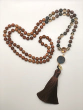 "Load image into Gallery viewer, ""Sonora Café"" 108 bead Mala"