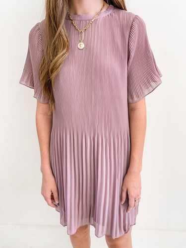 The Ella Pleat Dress