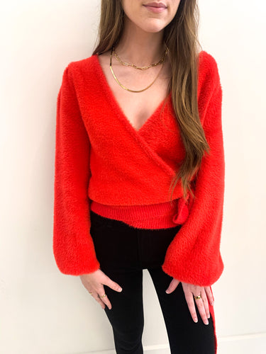 Nadia Wrap Sweater