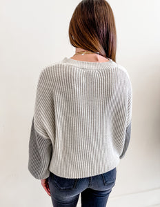 Annie Color Block Sweater