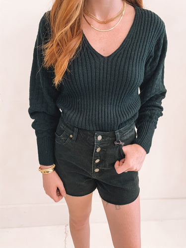 The Lilah Sweater Black