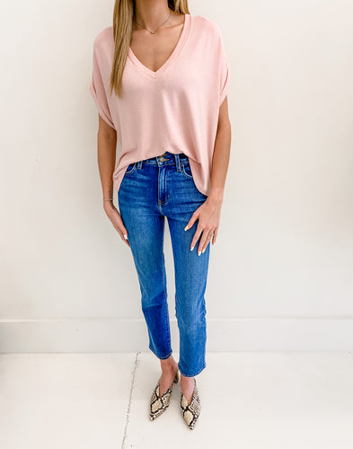 Gladys Blush Top