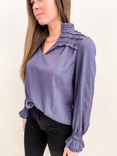 The Sloan Blouse Slate
