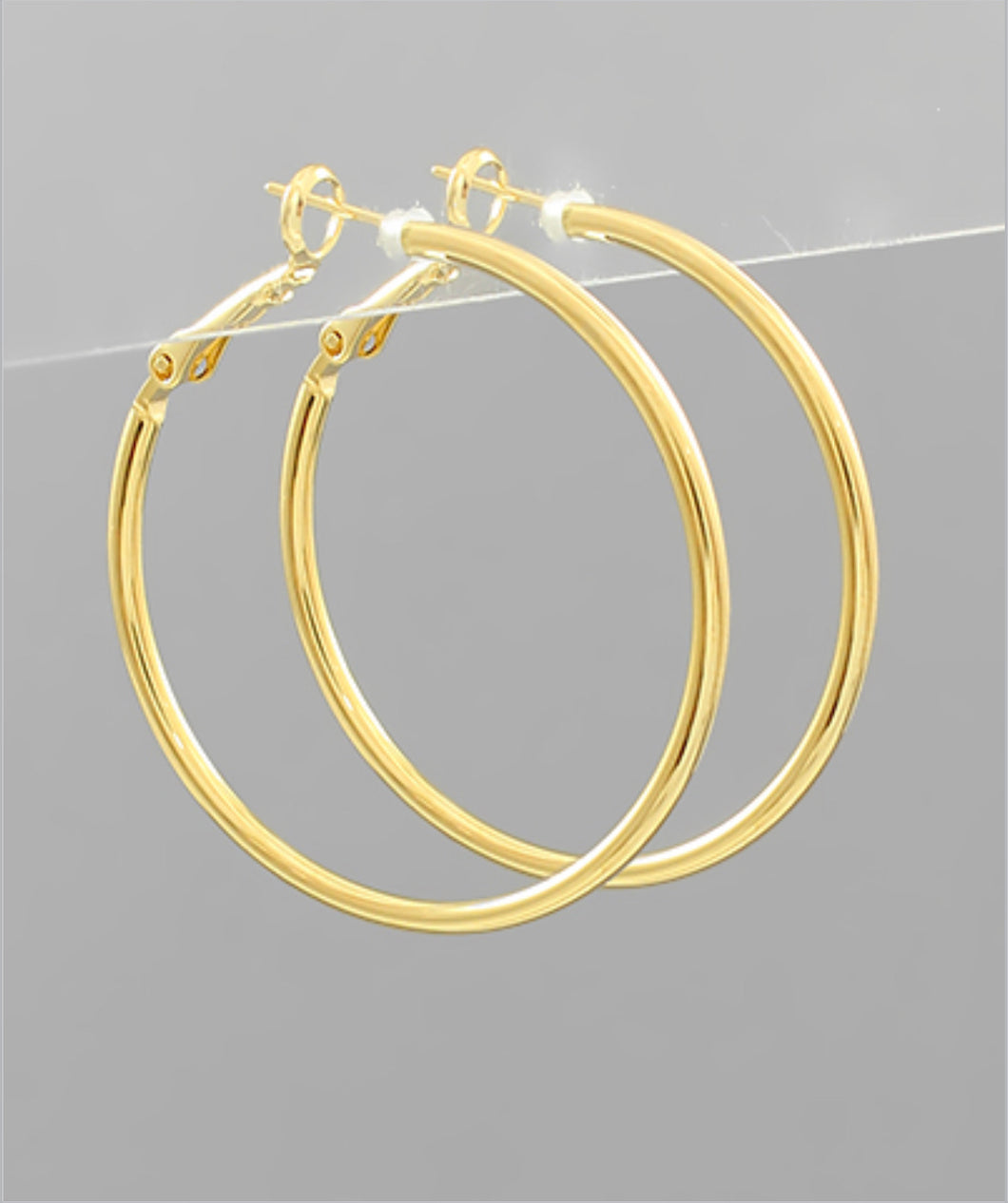 40mm Brass Hoops
