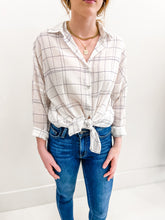 Riley Plaid Button Up