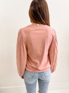 Madeline Pleat Blouse