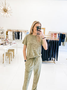 The Jake Pant Olive