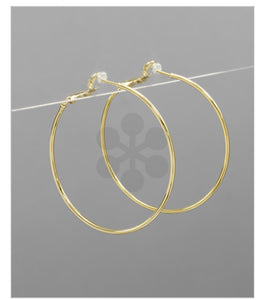 14K Gold Filled Hoops