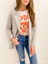 Grey Oversized Blazer