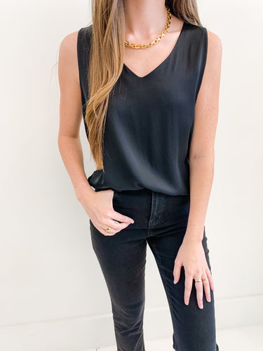 The Audrey Tank Black