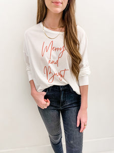 Merry and Bright Tee