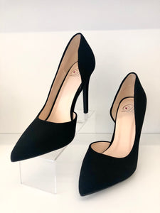 Black Side Cut Pump