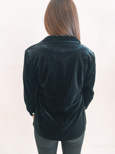 The Sasha Velvet Blazer