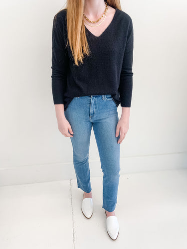 The Everly Top Black