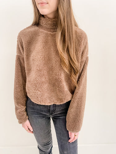 Paige Sherpa Sweater