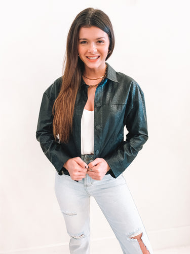 The Jetta Leather Jacket