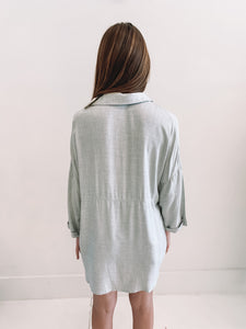 Grey Boyfriend Top