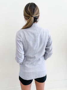 The Chrissy Blazer Grey