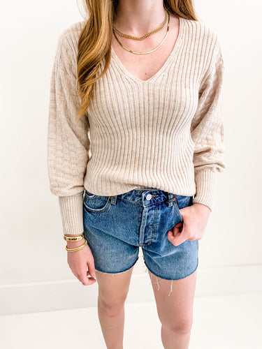 The Lilah Sweater Blush